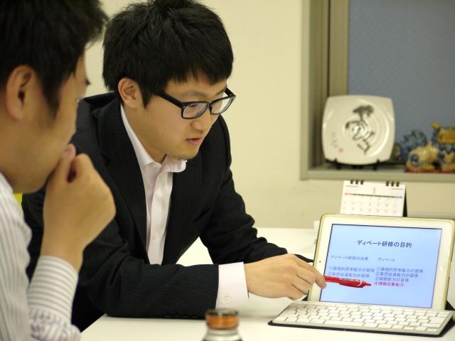 新入社員による研究発表会2